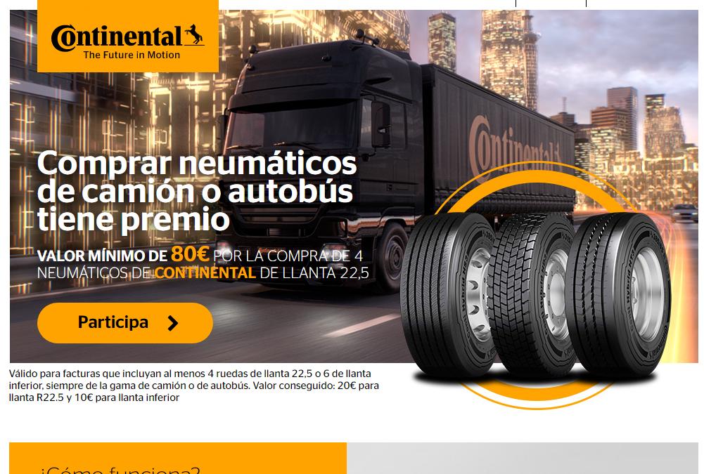 Promocion continental camión